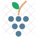 Grapes Fruit Vines Icon