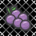 Grapes Fruit Fruit Game Icon