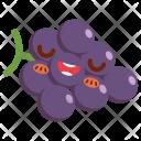 Grape Fruit Face Icon