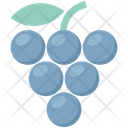 Bunch Of Grapes Fruit Food Icon