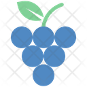 Summer Grapes Fruit Icon