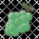 Grapes Fruit Vitamins Icon