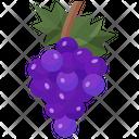 Grape Fruit Food Icon