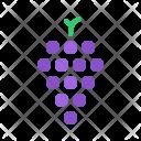 Grapes Wine Fruit Icon