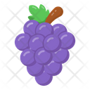Bunch Of Grapes Grapes Fruit Icon