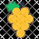 Grapes Fruit Edible Icon