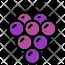 Grapes Fruit Fresh Icon
