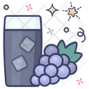 Grapes Juice Icon