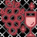 Grapes Wine Grapes Wine Icon