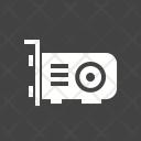 Grapfic Card Circuit Icon