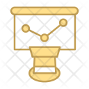 Grapg Search Seo Icon