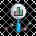 Grapg Diagram Search Icon