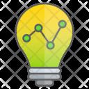 Graph Idea Intelligence Icon