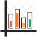Arrow Bar Graph Icon