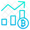 Business Graph Analytics Anaysis Icon