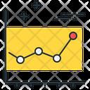 Line Graph Graph Statistics Icon