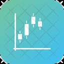 Graph Analytics Bitcoin Icon