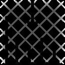 Graph Bar Down Icon