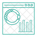 Graph Online Chart Icon