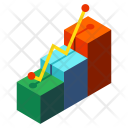 Business Development Graph Icon