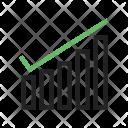 Pagerank Checker Graph Icon