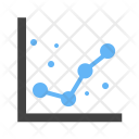 Graph Dotted Analysis Icon