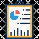Graph Report Pie Icon