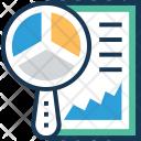 Graph Search Pie Icon