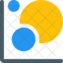 Bubble Graph Infographic Icon