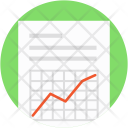 Grid Graph Array Icon