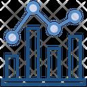Data Analytics Graph Diagram Icon