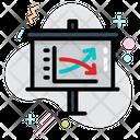 Graph Analysis Analytics Icon