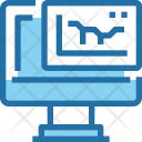 Financial Report Graph Icon