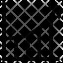 Arrow Graph Ascending Icon