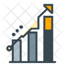 Growth Charts Graph Icon
