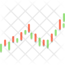Candle Bar Chart Icon