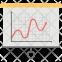 Curve Line Graphic Icon