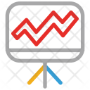 Graph Graphical Representation Icon