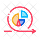 Round Graph Center Icon
