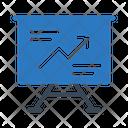Graph Presentation Board Icon