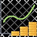Graph Coin Money Icon