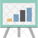 Graph Board Easel Icon