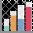 Bar Chart Progress Chart Infographics Icon