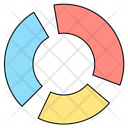 Graph Business Divided Icon