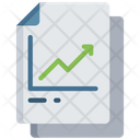 Graph Document Data Note Icon