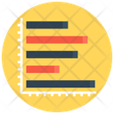 Graph Horizontal Graph Analytics Icon
