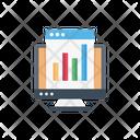 Graph Webpage Seo Icon