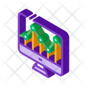 Business Computer Graph Icon