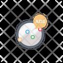 Ads Graph Chart Icon