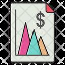 Graph Report Finance Icon